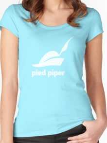 Pied Piper 3.0 Logo - Silicon Valley - New Logo - Season 3 Women's Fitted Scoop T-Shirt