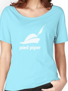 Pied Piper 3.0 Logo - Silicon Valley - New Logo - Season 3 Women's Relaxed Fit T-Shirt
