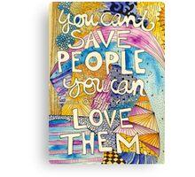 Love People Canvas Print