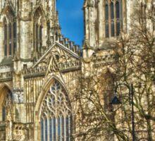 York Minster, England (HDR) Sticker