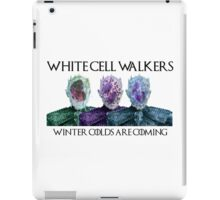 White Cell Walkers iPad Case/Skin