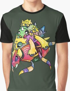 Spider Stack Graphic T-Shirt