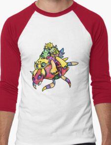 Spider Stack Men's Baseball ¾ T-Shirt