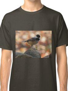 Carolina Chickadee On Rock Classic T-Shirt