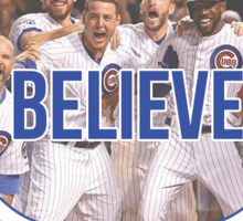 Believe Chicago Cubs Sticker