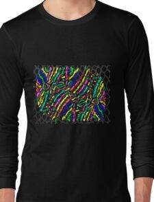Fish Skin with Scales Long Sleeve T-Shirt