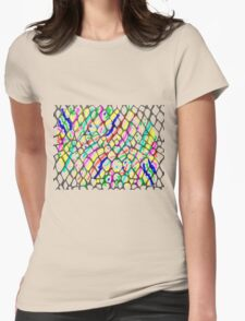 Fish Skin with Scales Womens Fitted T-Shirt