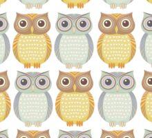 Owls Pattern Sticker