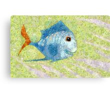 IF FISHES WERE WISHES, THEN THIS IS KISSES Canvas Print