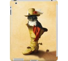 Little Puss in Boots iPad Case/Skin
