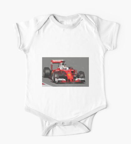 Ferrari F1 2016 Vettel's car One Piece - Short Sleeve