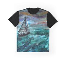 Sailing Travels  Graphic T-Shirt