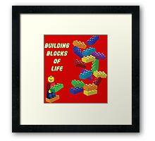 Building Blocks of Life - Legos Framed Print