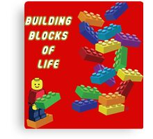 Building Blocks of Life - Legos Canvas Print
