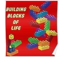 Building Blocks of Life - Legos Poster