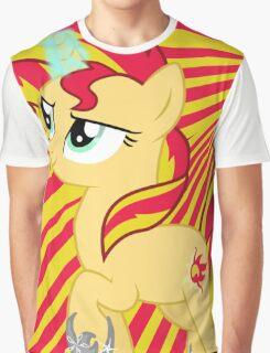 Sunset Shimmer (design) Graphic T-Shirt