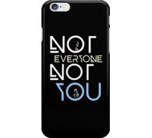 Not everyone not you - Clexa - Clarke and Lexa iPhone Case/Skin