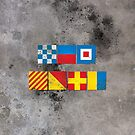 New York in Flags by Confundo