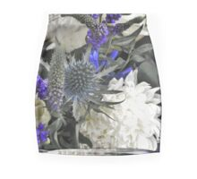 Purple Thistle Mini Skirt
