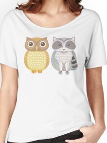 Owl & Raccoon Women's Relaxed Fit T-Shirt