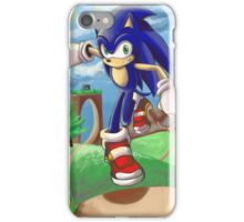Sonic the Hedgehog - Introduction iPhone Case/Skin