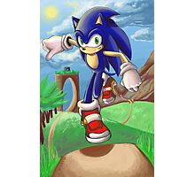 Sonic the Hedgehog - Introduction Photographic Print