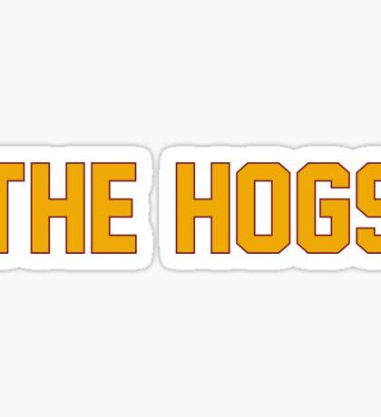 The Hogs Sticker