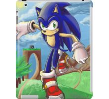 Sonic the Hedgehog - Introduction iPad Case/Skin