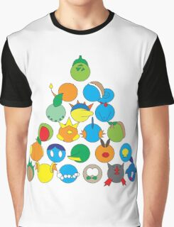 Pokemon Starter Pyramid Graphic T-Shirt