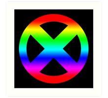 Mutant Pride Art Print