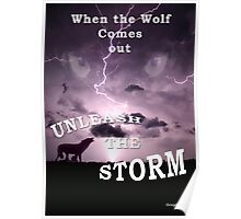 Wolf in the Storm Poster