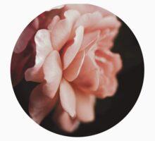 Peach Rose One Piece - Short Sleeve