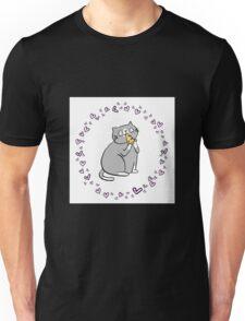 Pizza Cat Love  Unisex T-Shirt