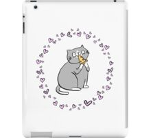 Pizza Cat Love  iPad Case/Skin