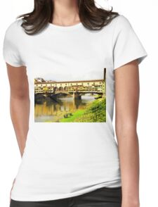 Over And Under, Photo / Digital Painting  Womens Fitted T-Shirt