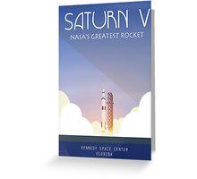 Saturn V Greeting Card