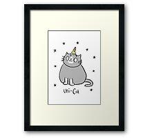 Uni-Cat  Framed Print