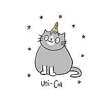Uni-Cat  Photographic Print