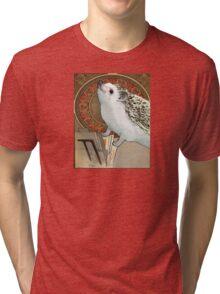 Art Nouveau Hedgehog Tri-blend T-Shirt