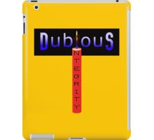 Dubious Integrity iPad Case/Skin