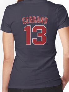 Cerrano 13 Women's Fitted V-Neck T-Shirt