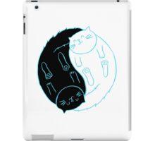 Ying Yang Cats iPad Case/Skin