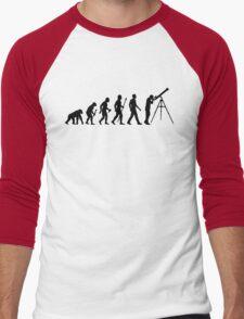 Funny Evolution of Astronomy Men's Baseball ¾ T-Shirt