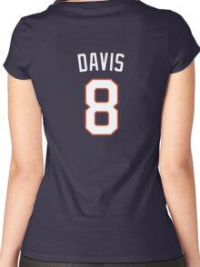 Davis 8 Women's Fitted Scoop T-Shirt