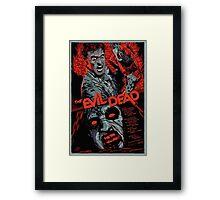 evil dead art #1 Framed Print