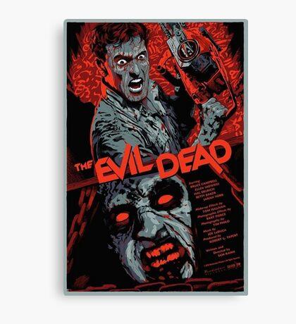 evil dead art #1 Canvas Print