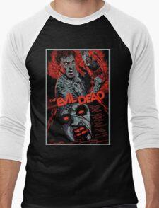 evil dead art #1 Men's Baseball ¾ T-Shirt