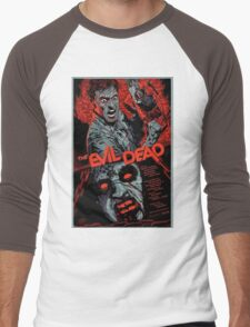 evil dead art #1 Men's Baseball ¾ T-Shirt
