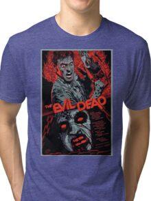 evil dead art #1 Tri-blend T-Shirt