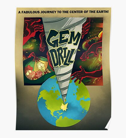 Journey To The Cluster Poster